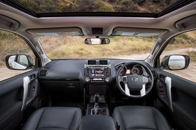 Toyota Land Cruiser Prado Altitude special edition interior