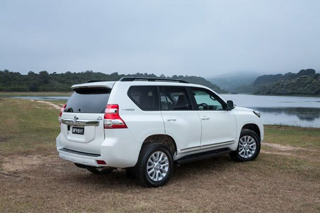 Toyota Land Cruiser Prado Altitude special edition rear