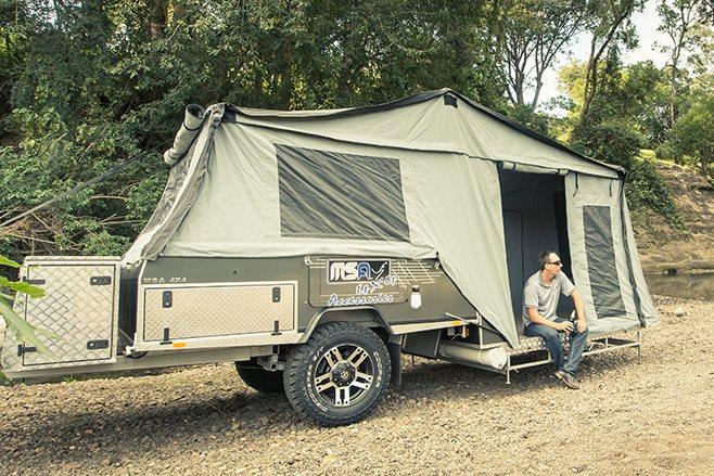 CUB Supamatic camper