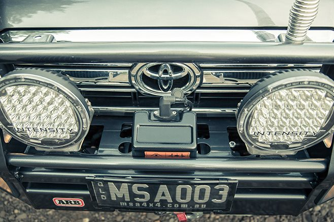 MSA bullbar and lights
