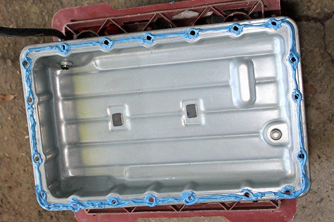 apply new gasket sealer