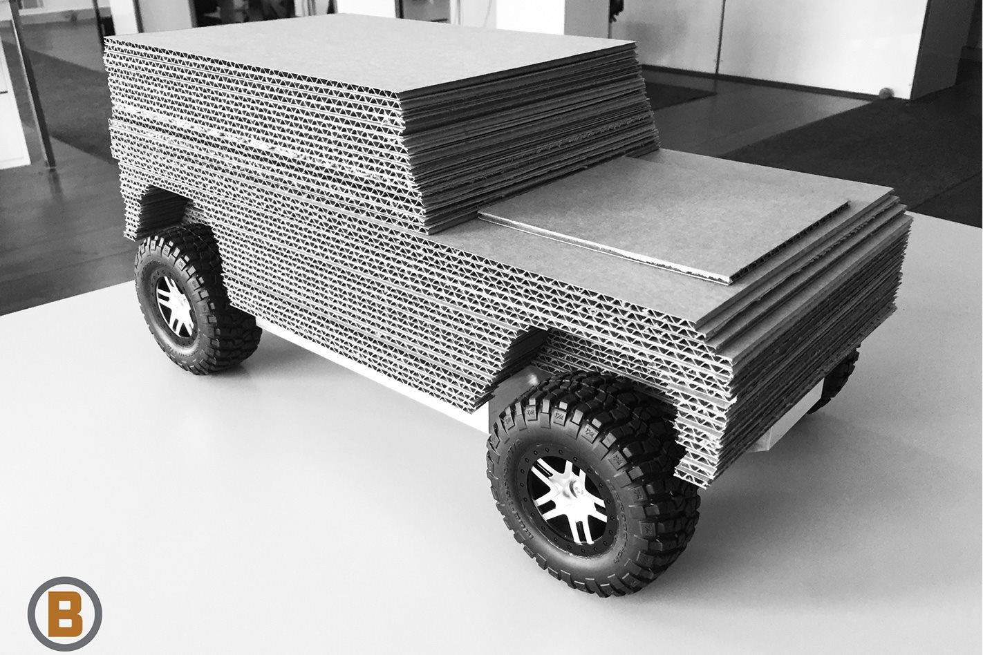 Bollinger Motors full electric 4x4