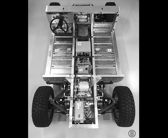 Bollinger Motors full extric 4x4 top