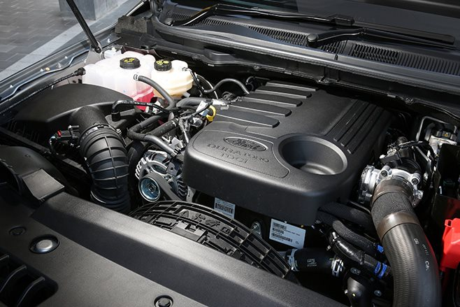 2017 Ford Everest engine