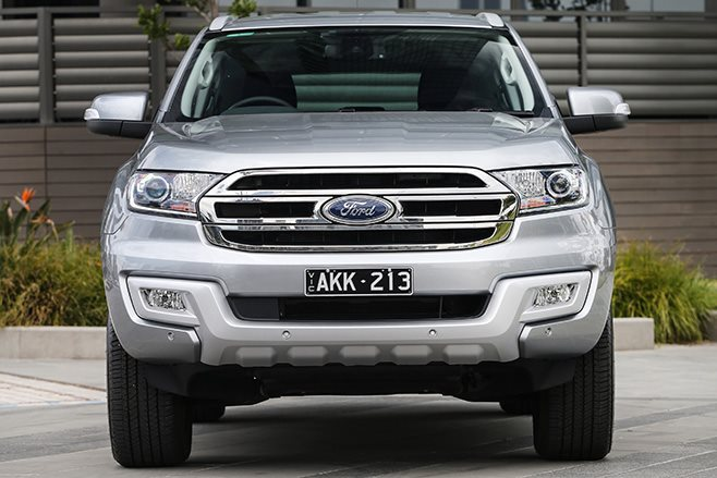 2017 Ford Everest front