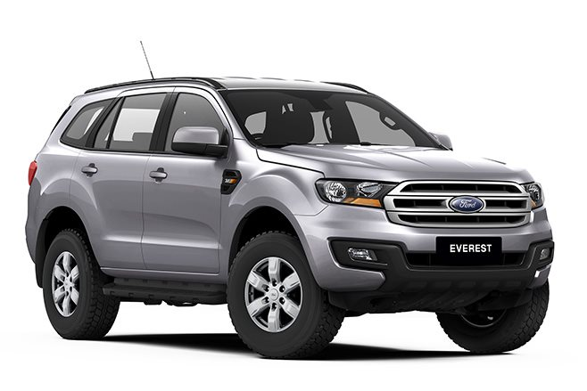 2017 Ford Everest front side