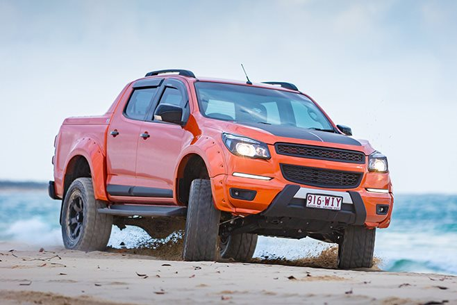 custom Holden Colorado Ls3 front
