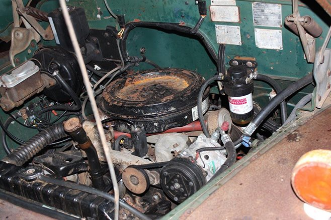Custom 1968 J Series Bedford engine