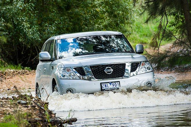 Nissan Patrol Ti water