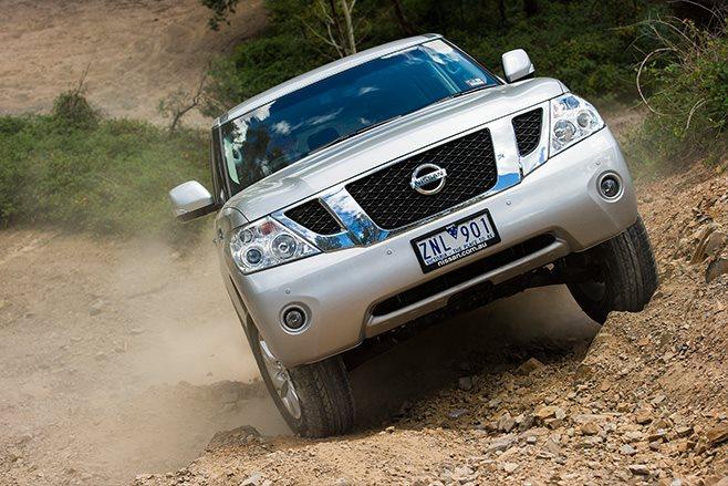 Nissan Patrol Ti climb