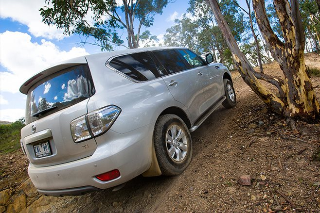 Nissan Patrol Ti rear