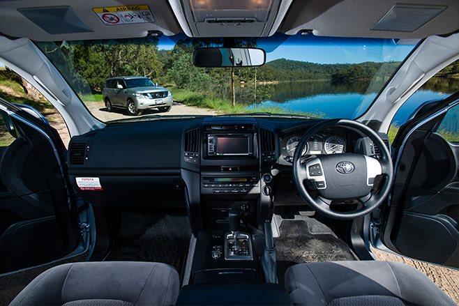 Toyota Land Cruiser 200 GXL interior