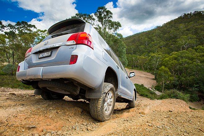 Toyota Land Cruiser 200 GXL rear