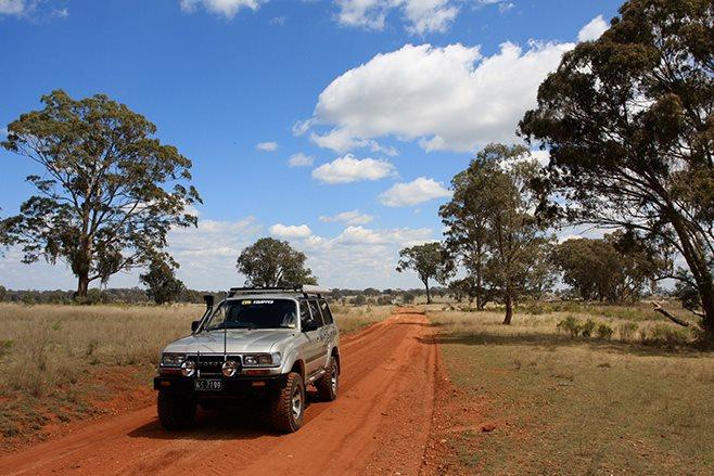 Mole River NSW red earth