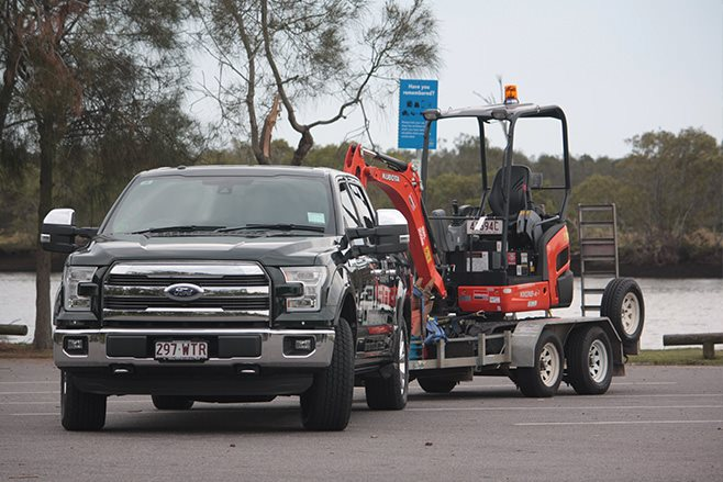 FORD F-150 KING RANCH ECOBOOST V6 towing