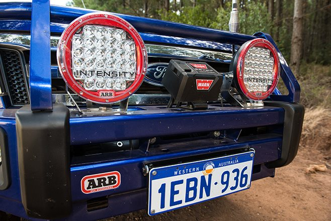 Ford Ranger gets ARB treatment bullbar