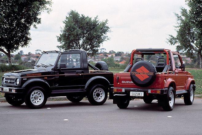 Suzuki 4x4: History lesson