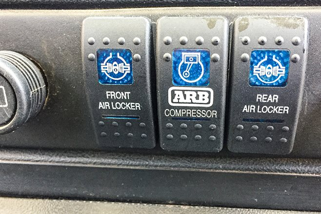 1994 Land Rover Defender ARB air locker