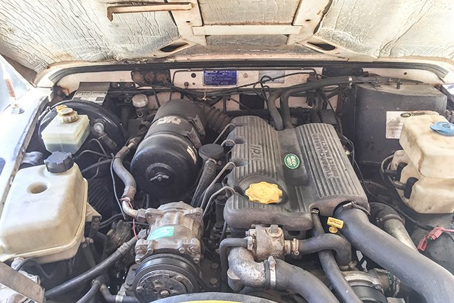 1994 Land Rover Defender engine