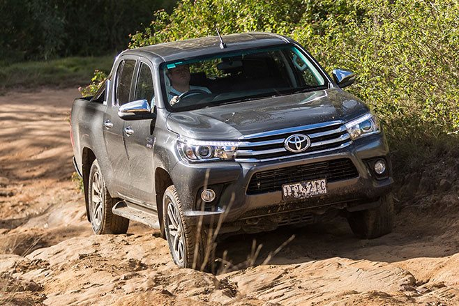 Toyota Hilux off-road