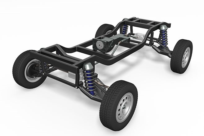 Separate chassis