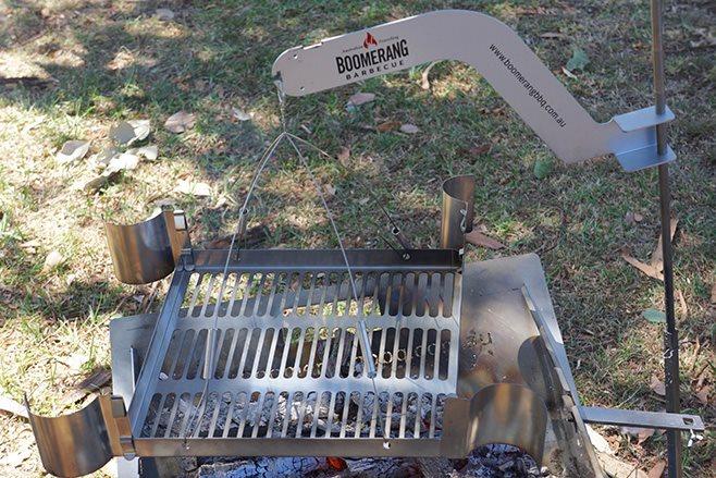 Boomerang BBQ  setup