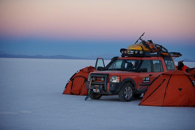 Camping Salar de Uyuni Bolivia
