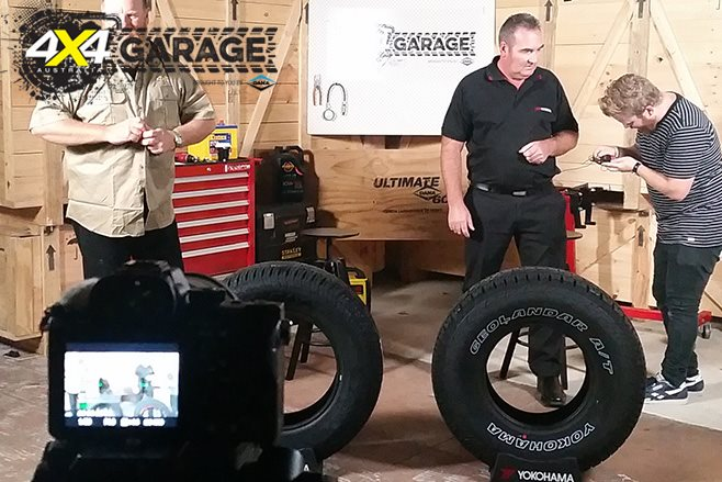 4x4 garage behind the scenes