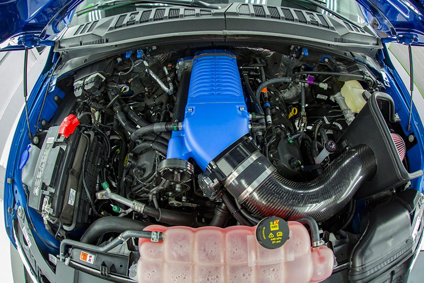 Shelby F 150 Super Snake  engine