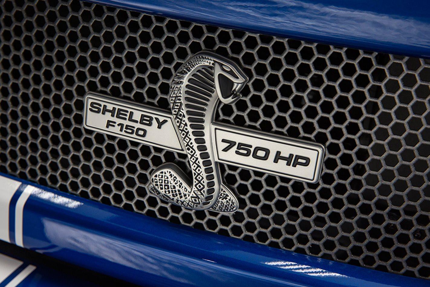 Shelby F 150 Super Snake  badge