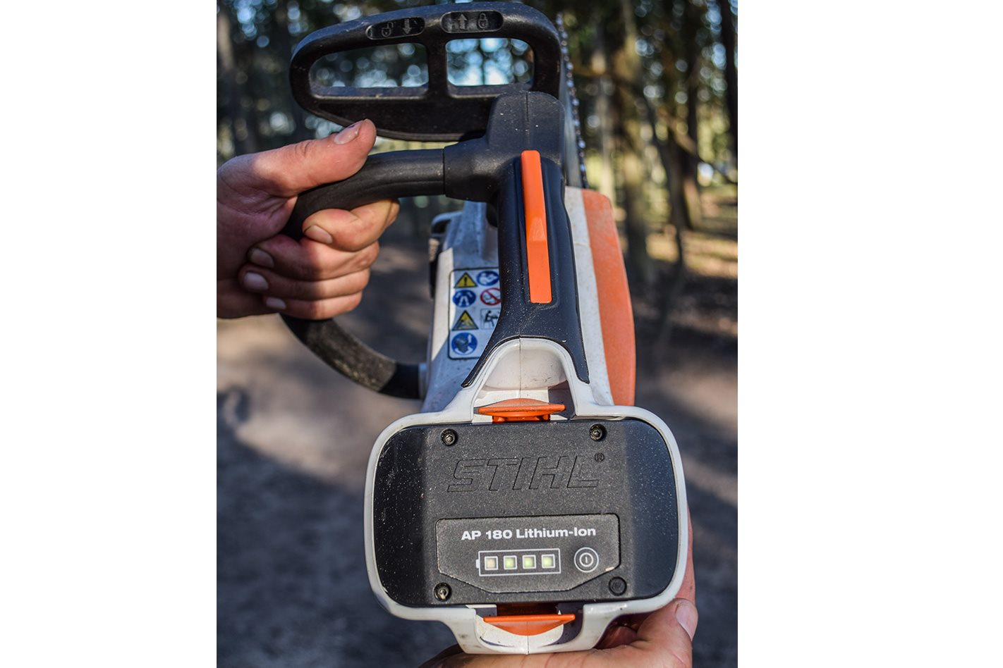 Stihl MSA 160T electric chainsaw tool