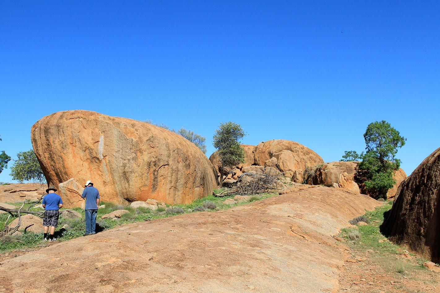 Currawinya National Park granites