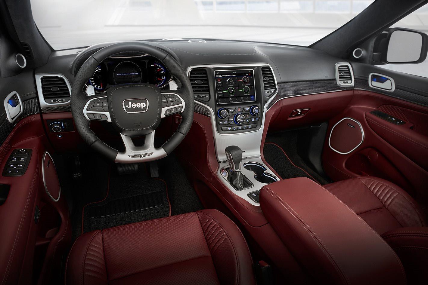 2017 Jeep Trackhawk  interior