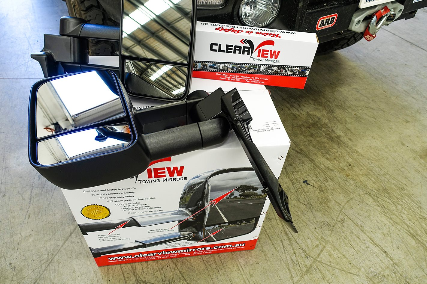 Clearview Mirror full kit