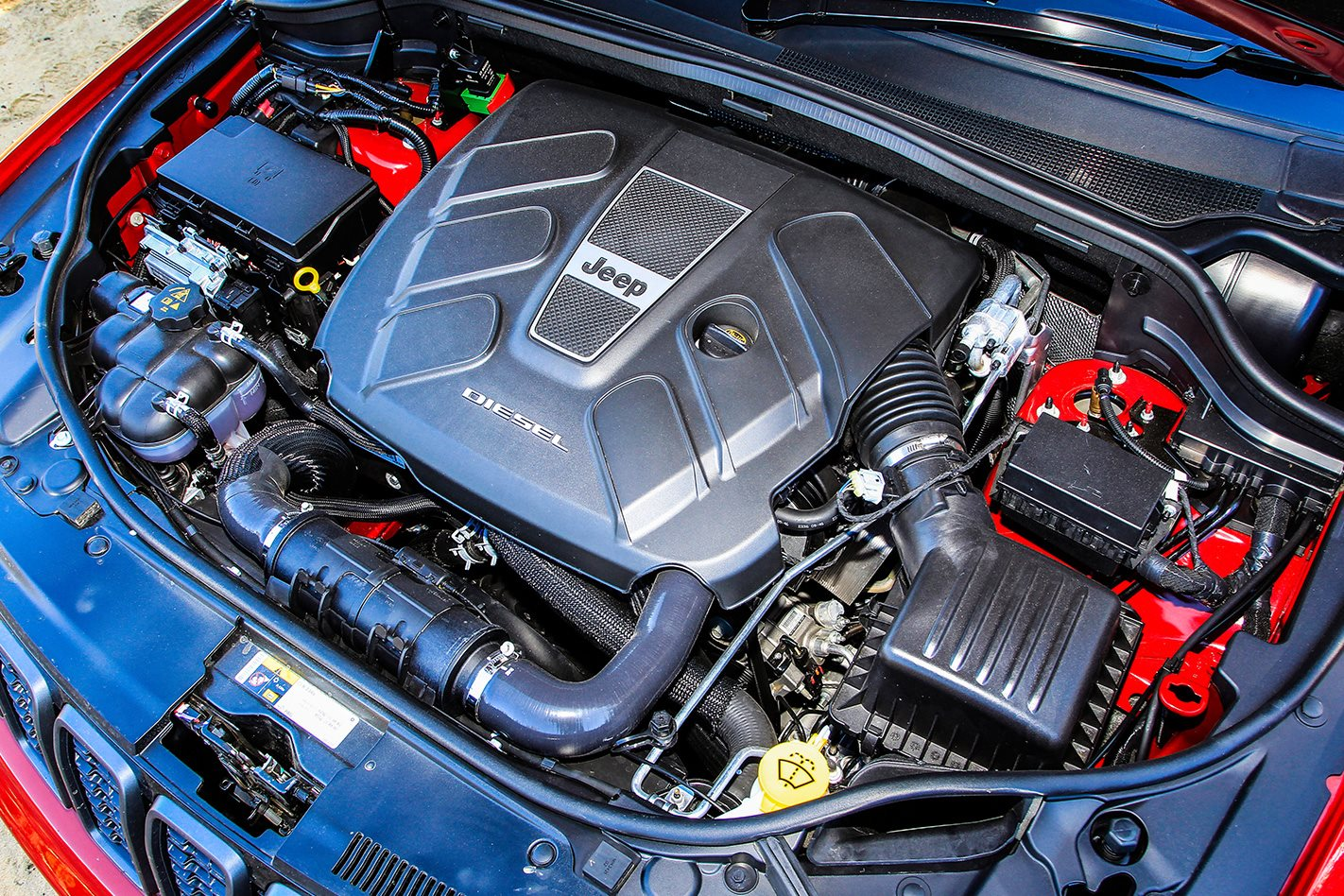 Jeep Grand Cherokee Trailhawk engine