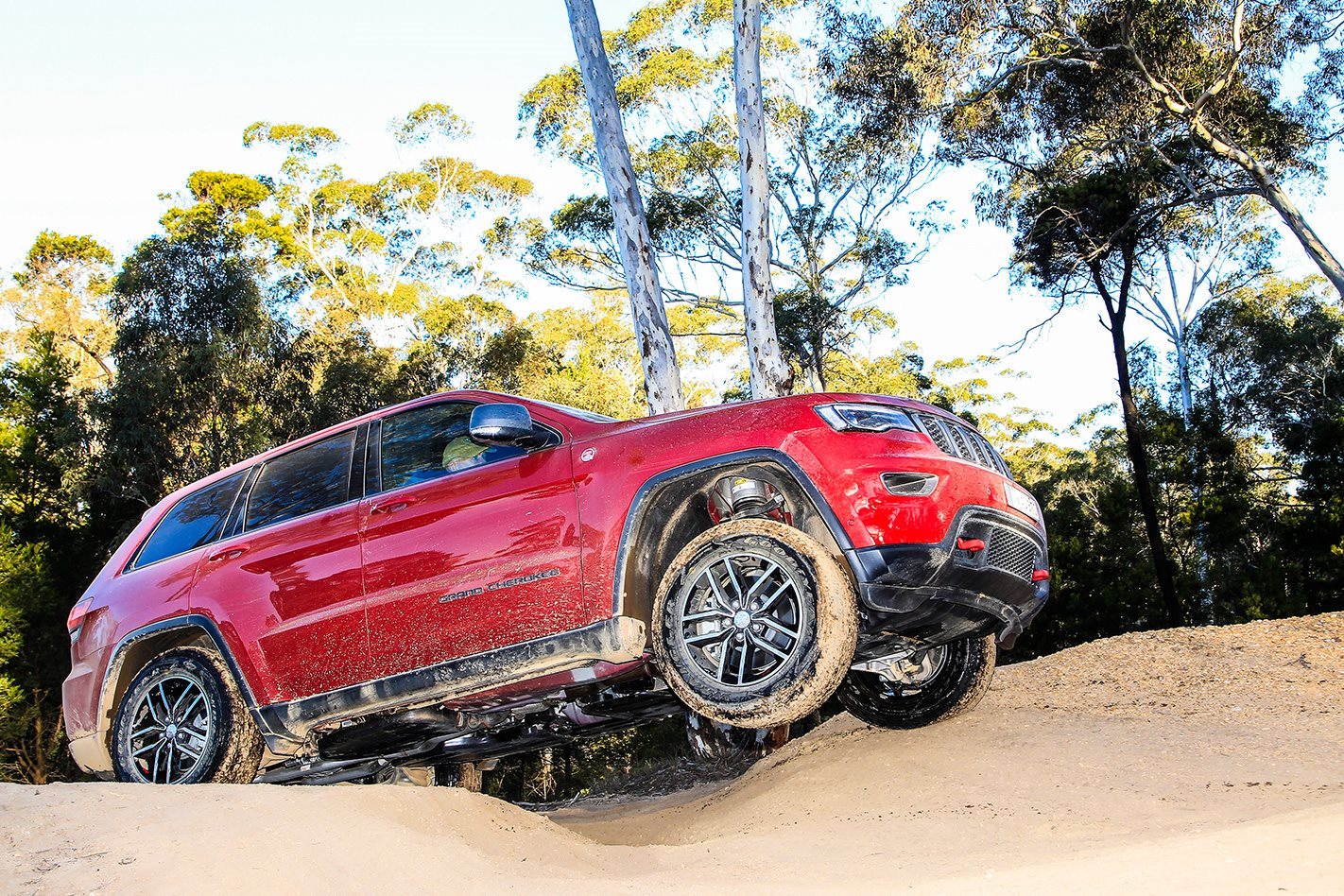 Jeep Grand Cherokee Trailhawk platform