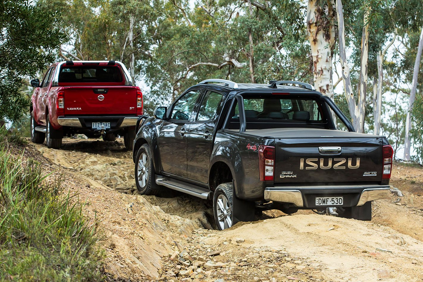 D-MAX vs Navara The Verdict
