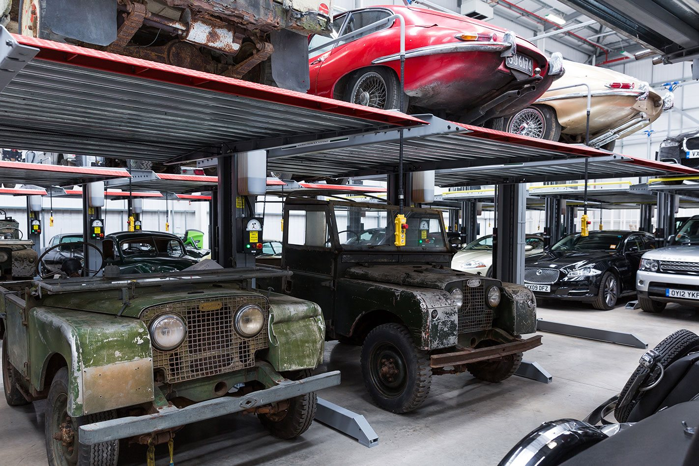 Jaguar Land Rover in Classic Works facility