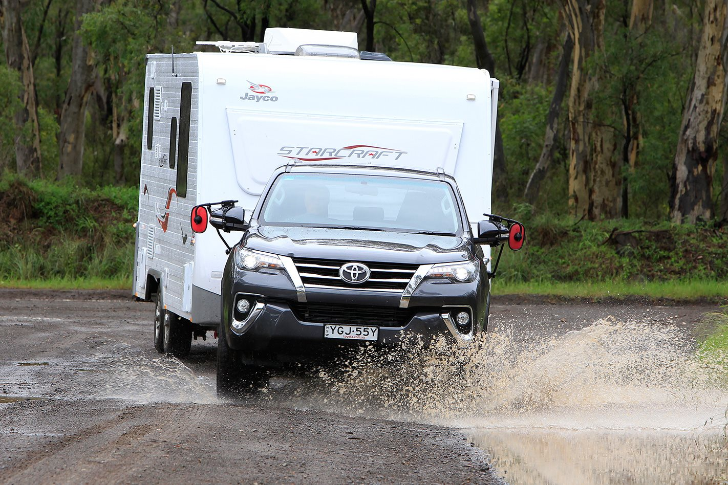 2017 Toyota Fortuner Crusade Tow Test Video Review