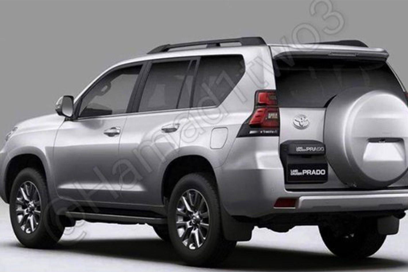 2018 Toyota Prado Leaked Online 4x4 Australia