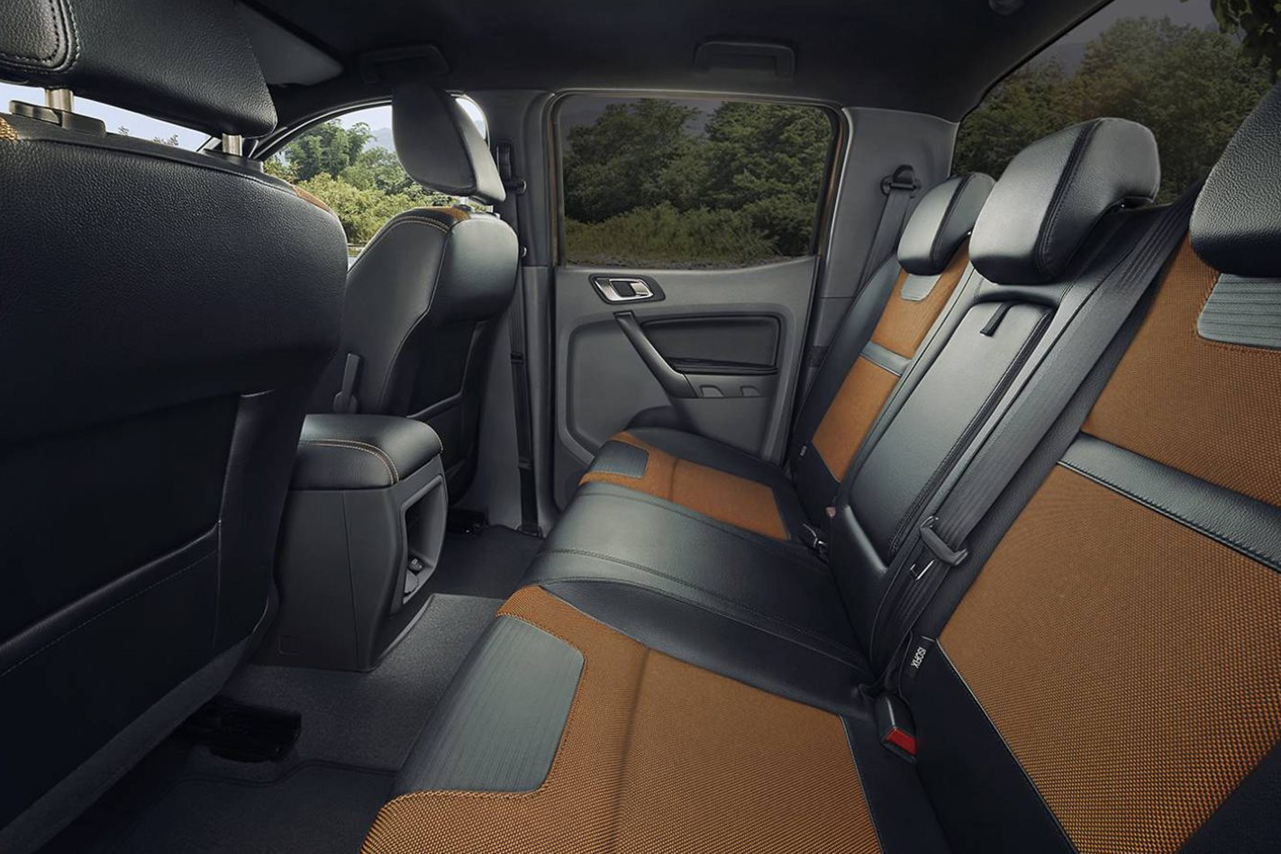 2017 ford ranger receives interior update for Ford ranger wildtrak interior 2017
