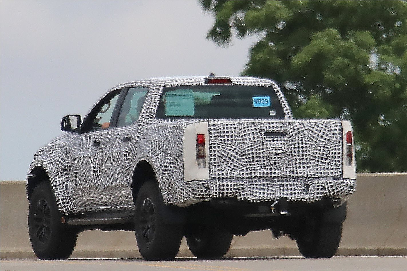 2018 Ford Ranger Raptor captured Rear