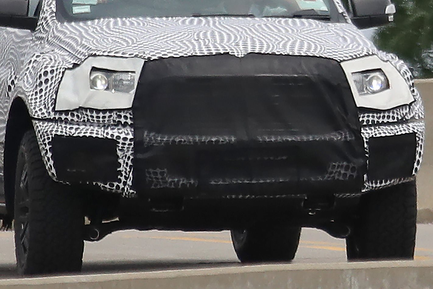 2018 Ford Ranger Raptor captured front