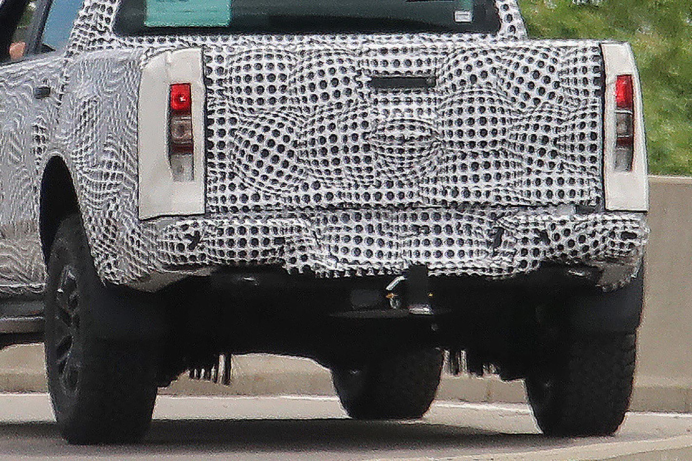 2018 Ford Ranger Raptor Ute Rear