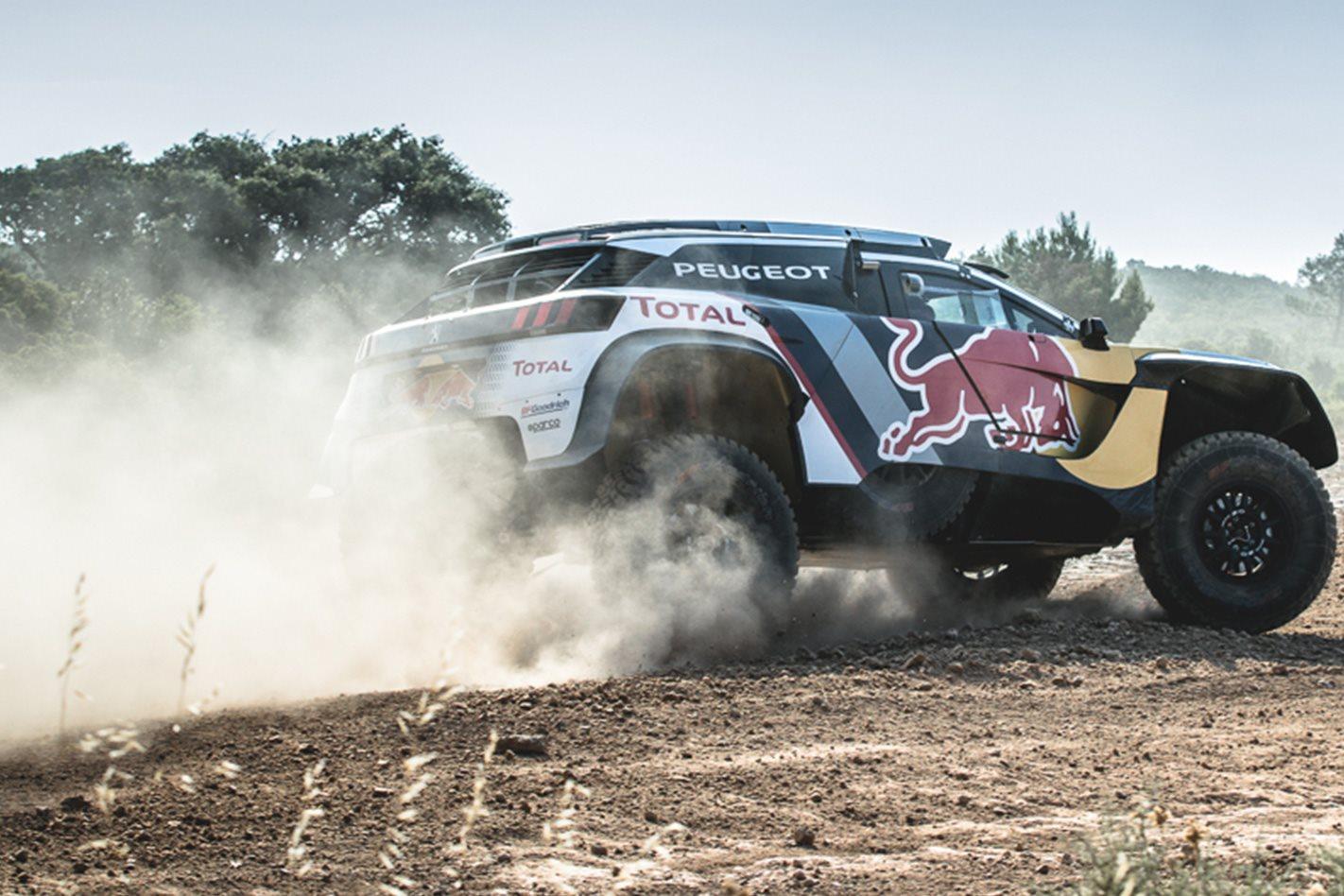 2018 Peugeot Dakar Challenger rear