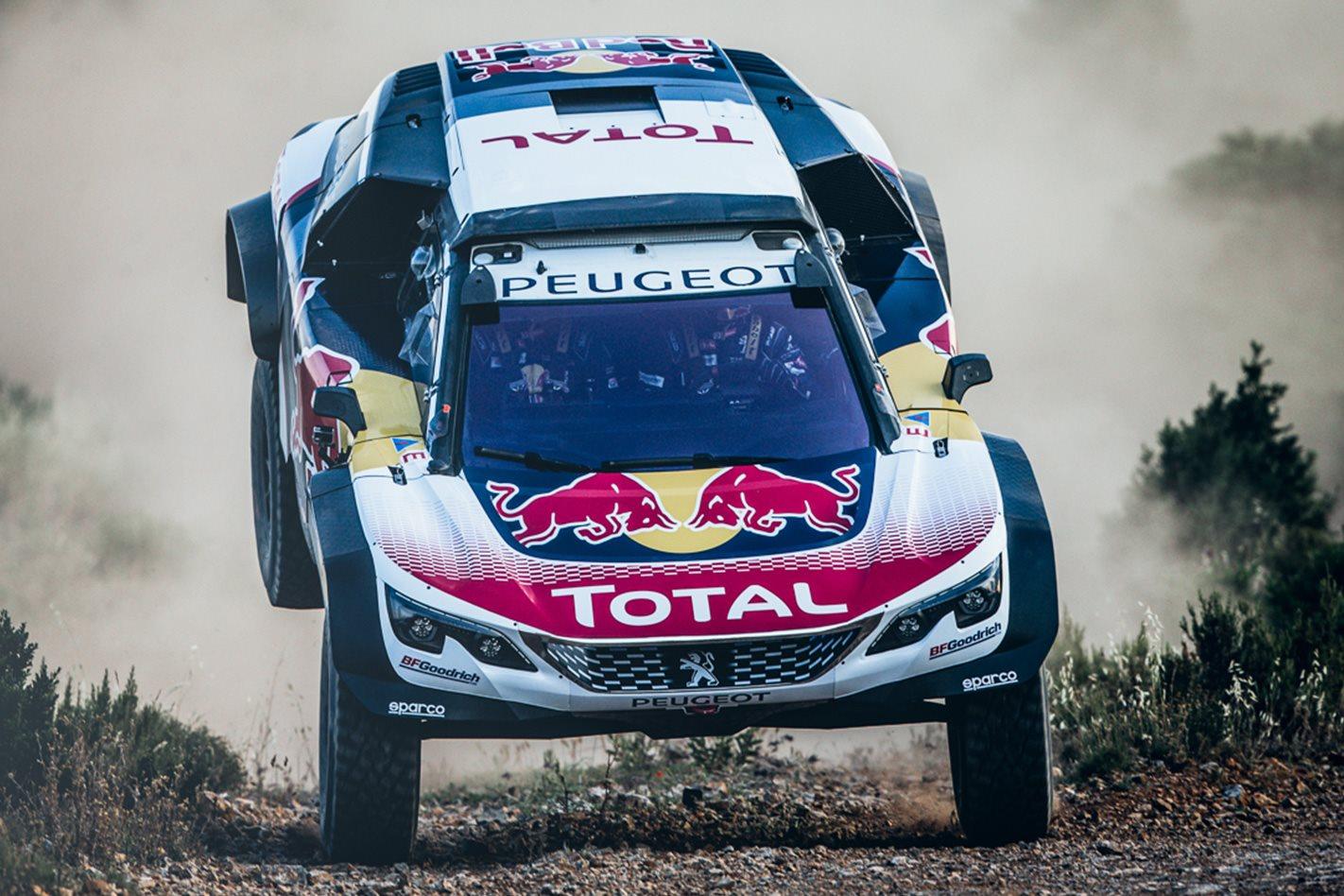 2018 Peugeot Dakar Challenger offroad