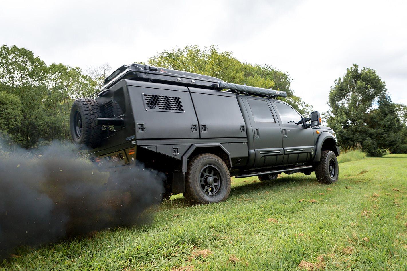 Custom Ford F250 Black Ops