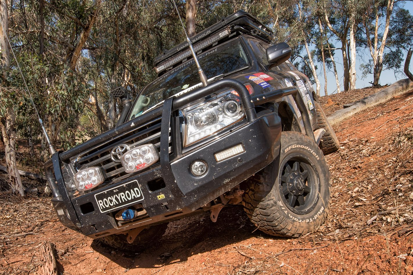 2014 Land Cruiser 200 Series off-roading