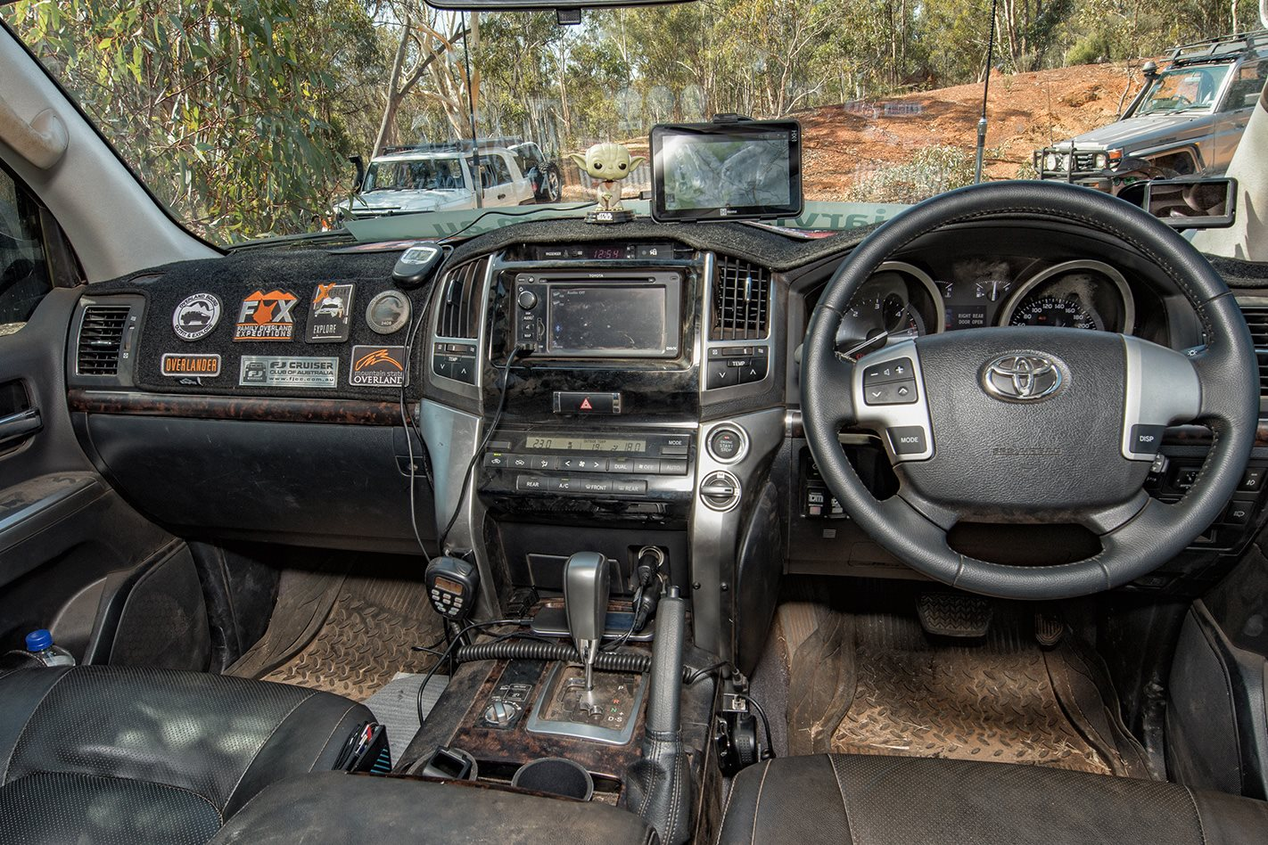 2014 Land Cruiser 200 Series interior