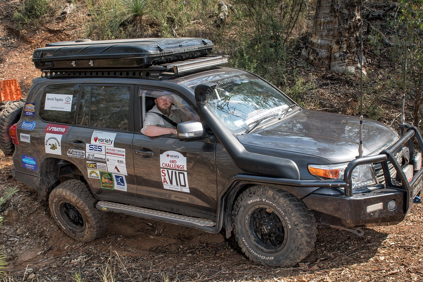 Gavin Gillett 2014 Land Cruiser 200 Series